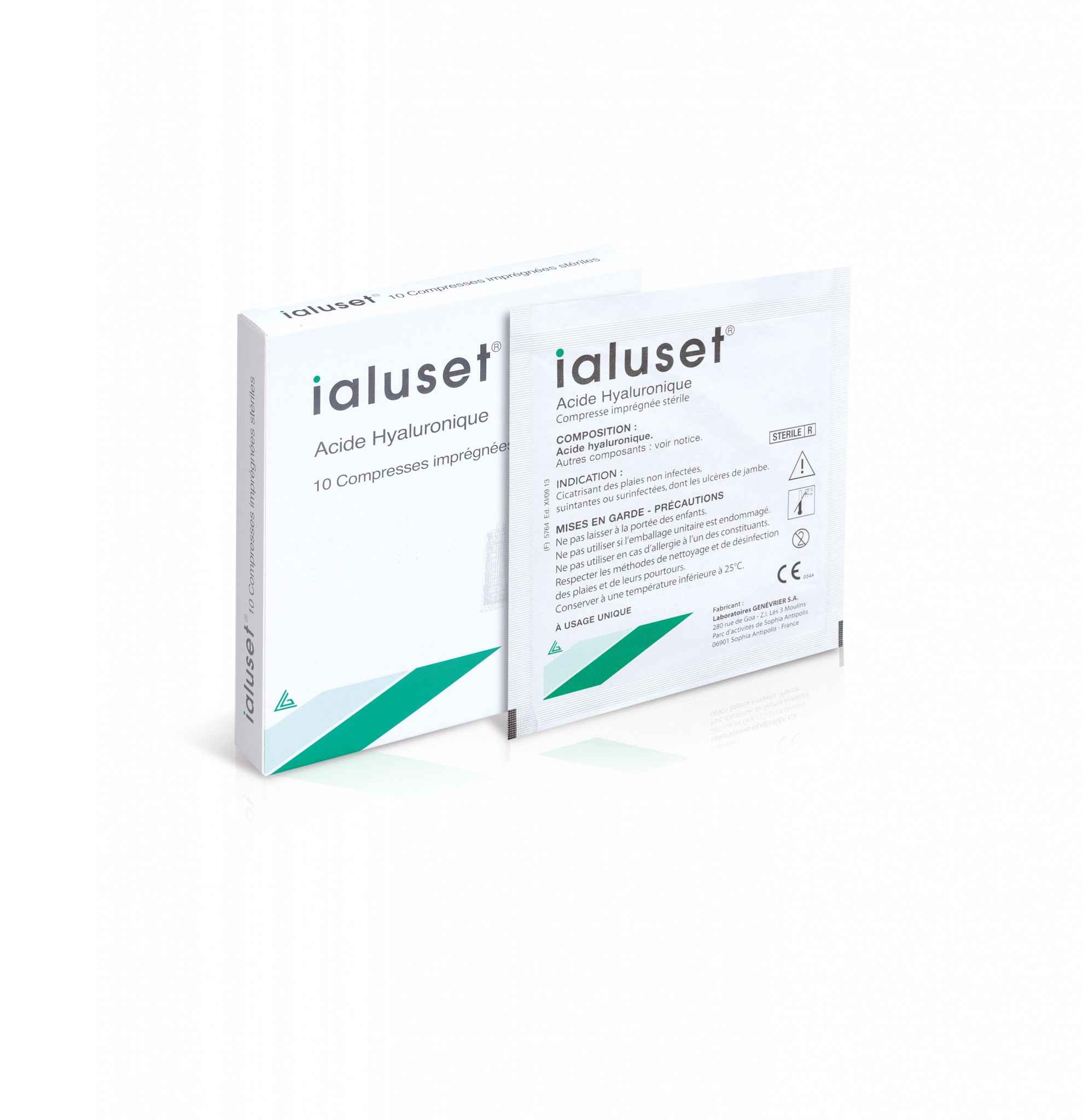 Ialuset® cream and gauze pad (Medical Device