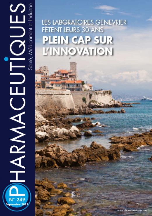 Page de couverture d'une publication de la revue PHARMACEUTIQUES
